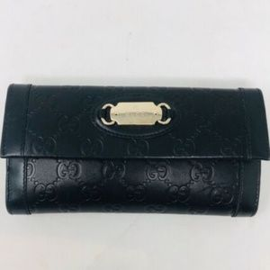 Gucci Wallet Leather Logo Wallet 2349-8-101519